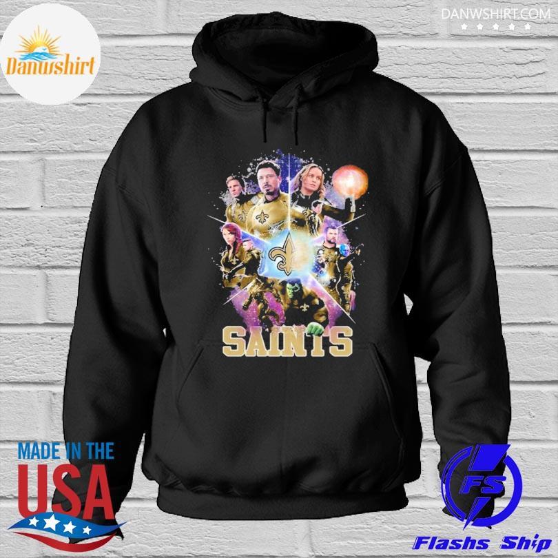 New Orleans Saints Avengers Endgame New Orleans Saints Shirt Hoodied