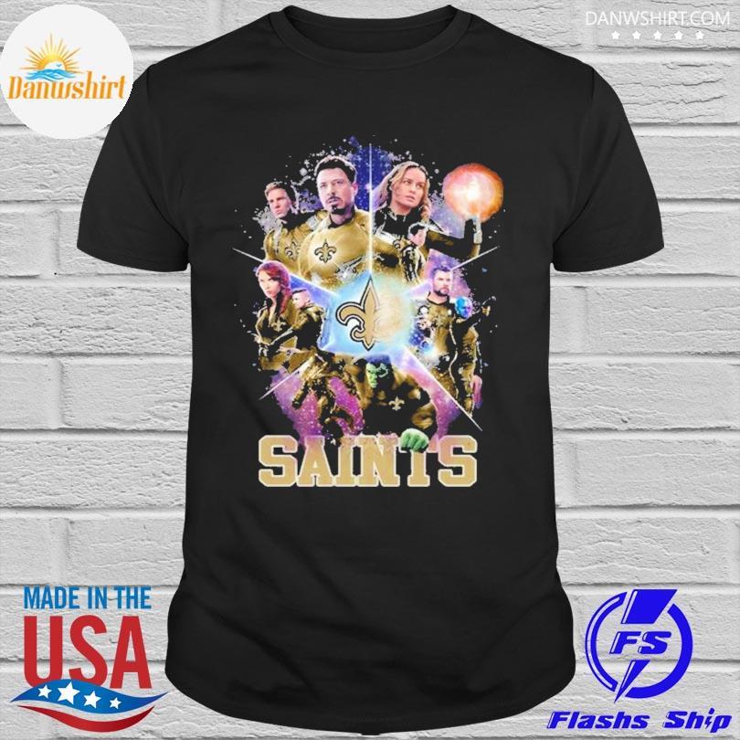 New Orleans Saints Avengers Endgame New Orleans Saints Shirt
