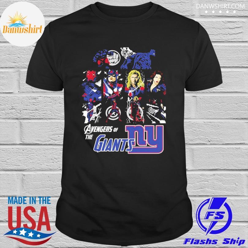 New York Giants Avengers Dc Marvel Jersey Superhero Avenger shirt