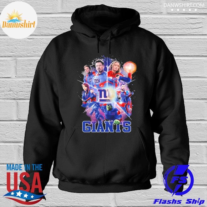 New York Giants Avengers Endgame New York Giants Shirt Hoodied