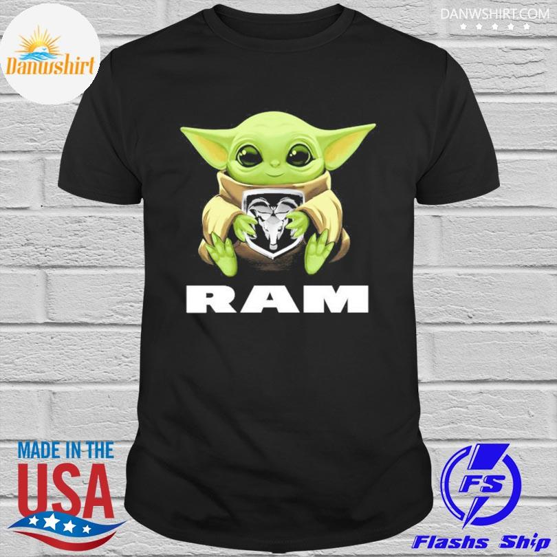 Official Baby Yoda hug Ram shirt