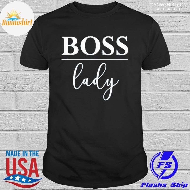 Official Boss lady girl boss shirt