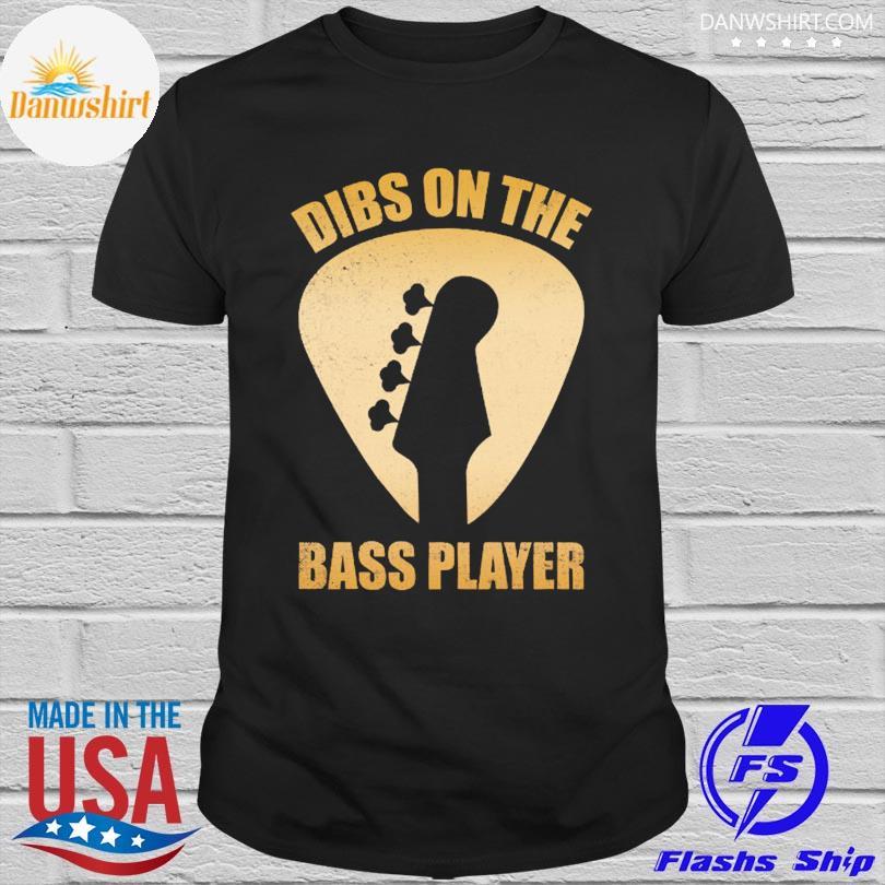 Official Diss on the bass player shirt