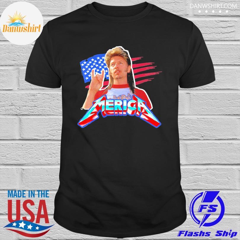 Official Joe dirt 4th of july bleached American shirt