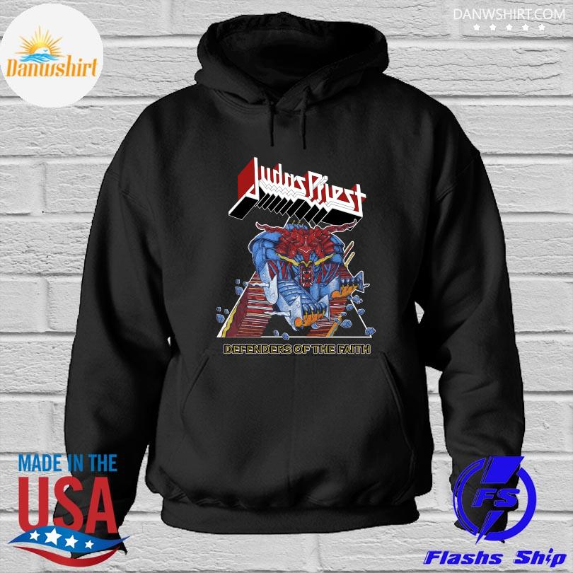 Official Judas priest defenders of the faith s Hoodied