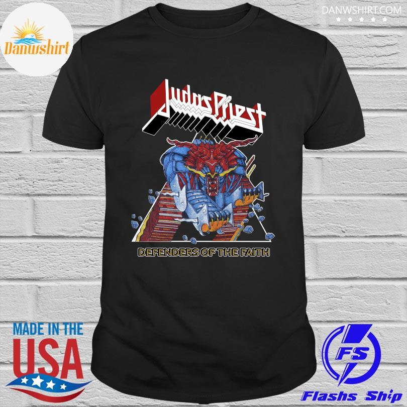 Official Judas priest defenders of the faith shirt