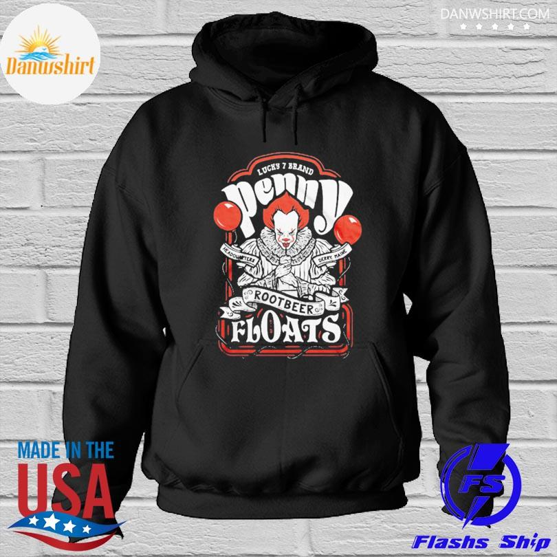 Official Pennywise Root Beer Floats Distressed Design s Hoodied