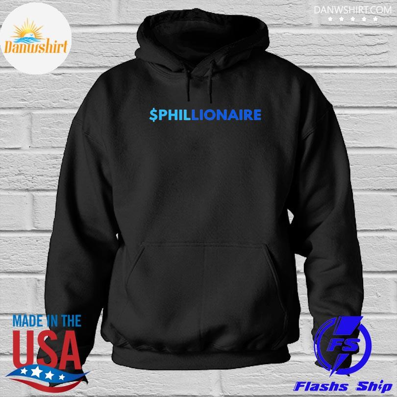 Official $PHILLIONAIRE Shirt Hoodied