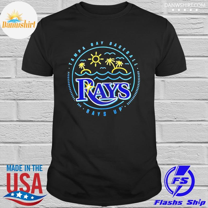 Official Tampa bay rays sunshine hometown rays up shirt