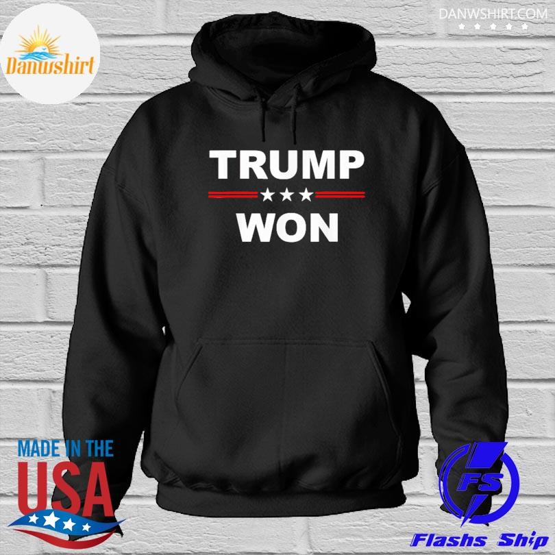 Official Trump won s Hoodied