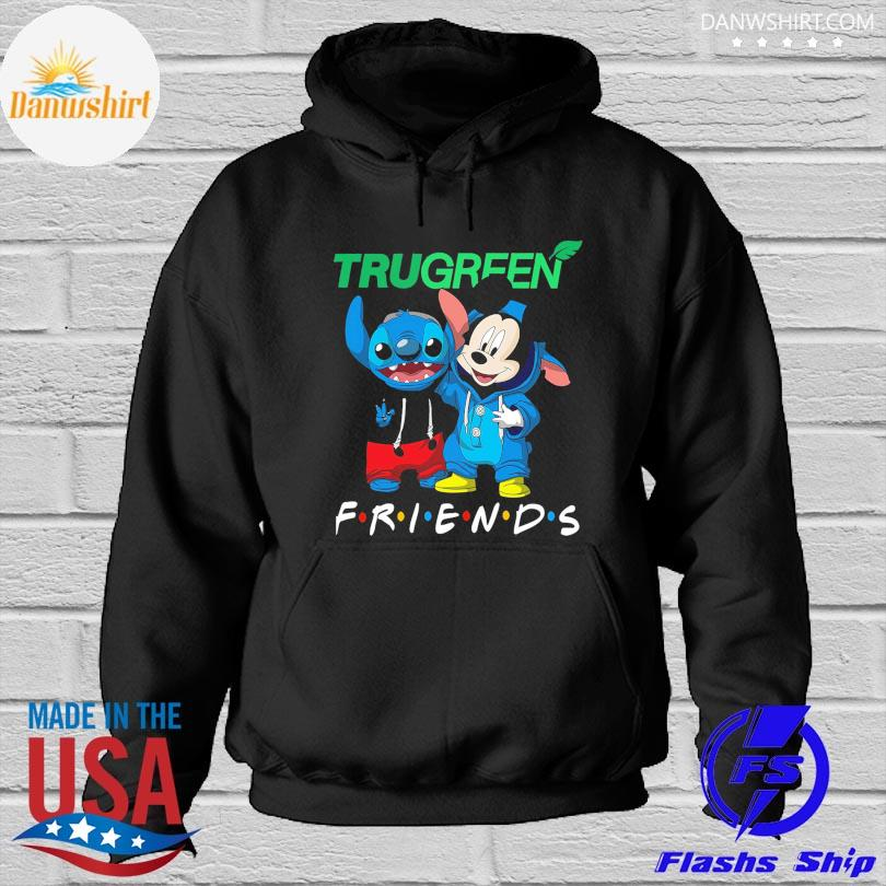 OfficialOfficial Stitch and Mickey Mouse Trugreen Friends s Hoodied