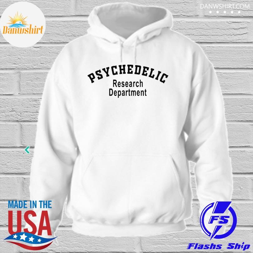 Psychedelic research department psychedelic s hoodied