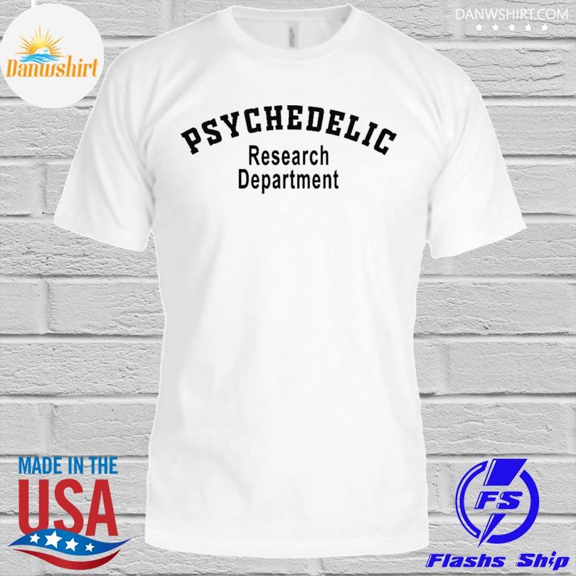 Psychedelic research department psychedelic shirt