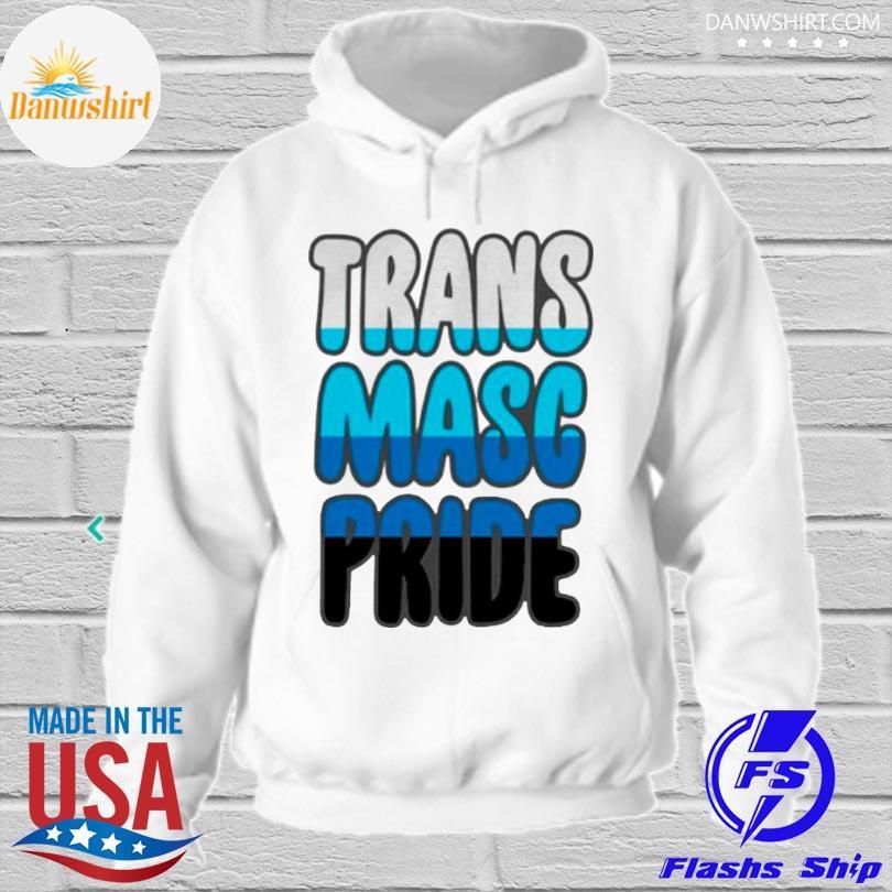 Trans masc pride s hoodied