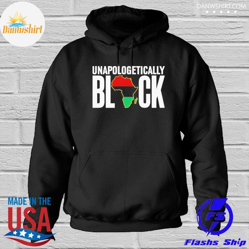 Official Unapologetically Black s Hoodied