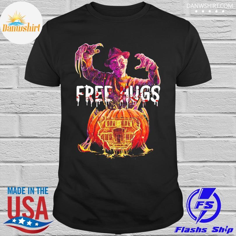 Freddy Krueger Free Hugs Halloween shirt