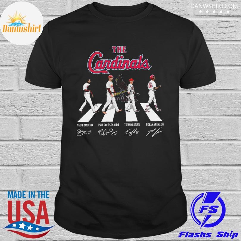 The St. Louis Cardinals Abbey Road signatures shirt